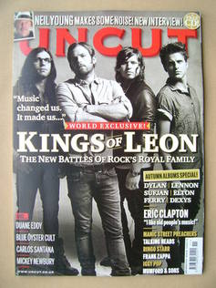 <!--2010-11-->Uncut magazine - Kings Of Leon cover (November 2010)
