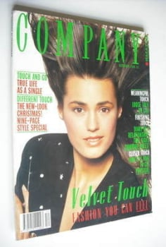 Company magazine - December 1988 - Yasmin Le Bon cover