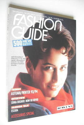 Fashion Guide magazine (Autumn/Winter 1993/94 - German publication)
