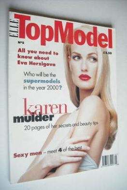 <!--0005-->Elle Top Model magazine - Karen Mulder cover (No. 5)