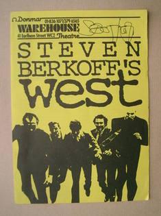 Steven Berkoff autograph