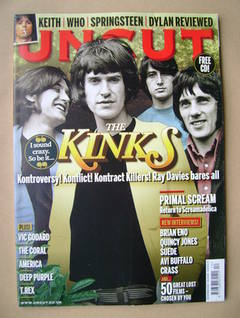 <!--2010-12-->Uncut magazine - The Kinks cover (December 2010)