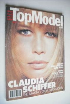 Elle Top Model magazine - Claudia Schiffer cover (No. 1)
