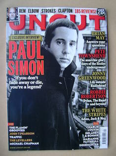 <!--2011-04-->Uncut magazine - Paul Simon cover (April 2011)