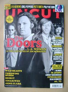 <!--2011-09-->Uncut magazine - The Doors cover (September 2011)