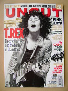 <!--2011-10-->Uncut magazine - Marc Bolan cover (October 2011)