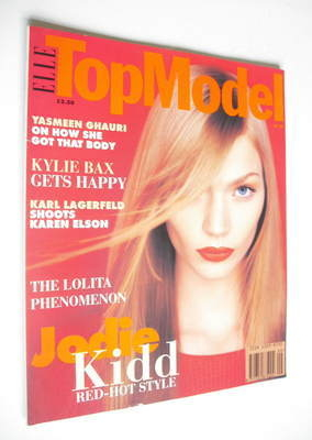 <!--0017-->Elle Top Model magazine - Jodie Kidd cover (No. 17)