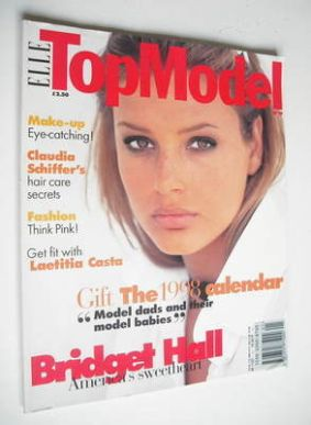 <!--0019-->Elle Top Model magazine - Bridget Hall cover (No. 19)