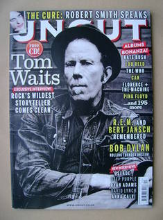 <!--2011-12-->Uncut magazine - Tom Waits cover (December 2011)