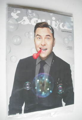 <!--2013-02-->Esquire magazine - David Walliams cover (February 2013 - Subs