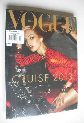 <!--2012-12-->Vogue Italia magazine - December 2012 - Vanessa Axente cover