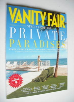 Vanity Fair Private Paradises magazine supplement (October 2012)
