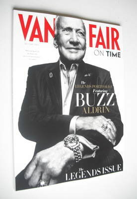Vanity Fair On Time magazine supplement - Buzz Aldrin cover (Autumn 2012)