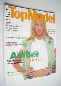 Elle Top Model magazine - Amber Valletta cover (No. 14)