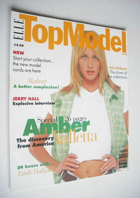 <!--0014-->Elle Top Model magazine - Amber Valletta cover (No. 14)