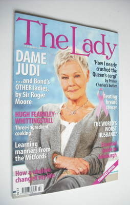 <!--2012-10-19-->The Lady magazine (19 October 2012 - Dame Judi Dench cover