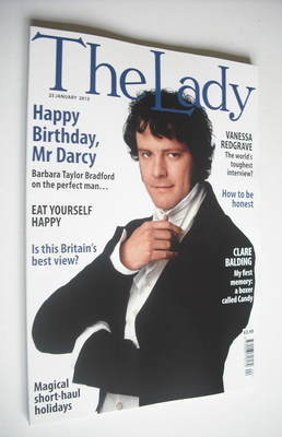 <!--2013-01-25-->The Lady magazine (25 January 2013 - Colin Firth cover)