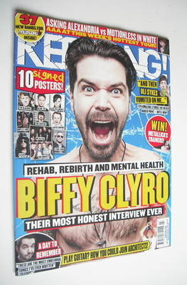 <!--2013-01-19-->Kerrang magazine - Biffy Clyro cover (19 January 2013 - Is