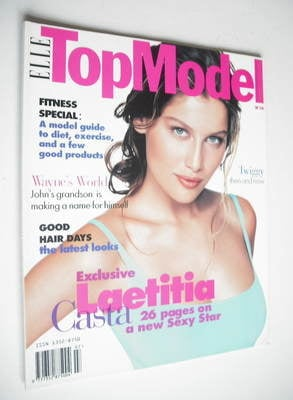 <!--0016-->Elle Top Model magazine - Laetitia Casta cover (No. 16)