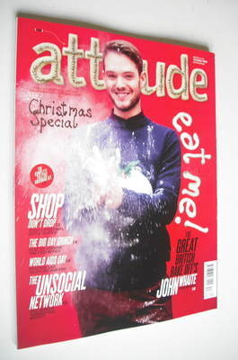 <!--2012-12-->Attitude magazine - John Whaite cover (December 2012 - Issue