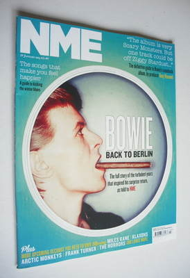 <!--2013-01-19-->NME magazine - David Bowie cover (19 January 2013)