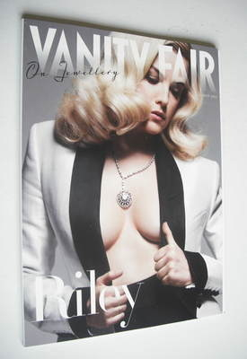 Vanity Fair On Jewellery magazine supplement (August 2012 - Riley Keough co