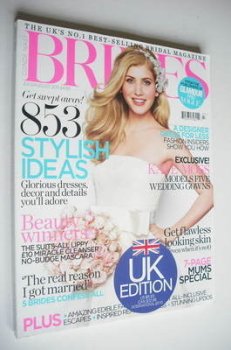 Brides magazine (July/August 2011)