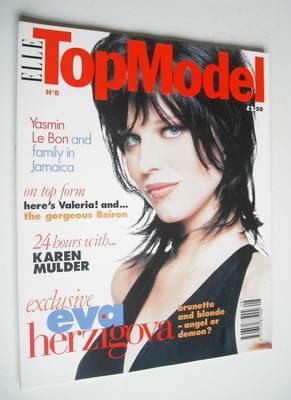 <!--0008-->Elle Top Model magazine - Eva Herzigova cover (No. 8)