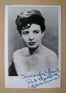 Pat Phoenix autograph