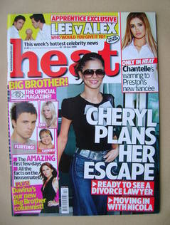 <!--2008-06-14-->Heat magazine - Cheryl Cole cover (14-20 June 2008 - Issue