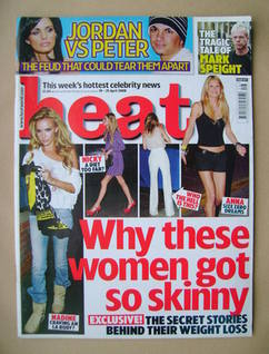 <!--2008-04-19-->Heat magazine - Why These Women Got So Skinny cover (19-25