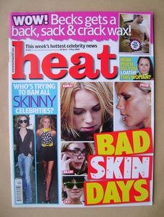 <!--2008-04-26-->Heat magazine - Bad Skin Days cover (26 April-2 May 2008 -