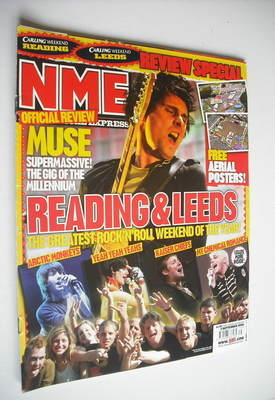 <!--2006-09-02-->NME magazine - Matt Bellamy cover (2 September 2006)