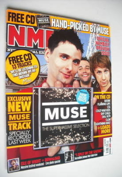 NME magazine - Muse cover (16 June 2007)