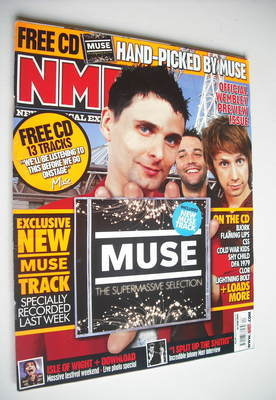 <!--2007-06-16-->NME magazine - Muse cover (16 June 2007)