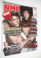 <!--2007-09-29-->NME magazine - The Klaxons cover (29 September 2007)
