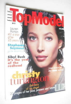 Elle Top Model magazine - Christy Turlington cover (No. 7)