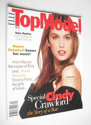<!--0009-->Elle Top Model magazine - Cindy Crawford cover (No. 9)