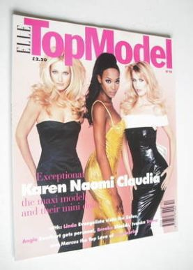 <!--0010-->Elle Top Model magazine - Karen Mulder, Naomi Campbell and Claud