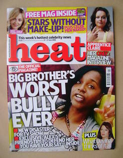 <!--2008-06-21-->Heat magazine - Alexandra De Gale cover (21-27 June 2008 -