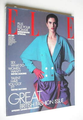 <!--1988-03-->British Elle magazine - March 1988