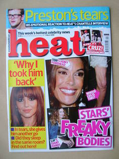 <!--2008-03-01-->Heat magazine - Stars' Freaky Bodies cover (1-7 March 2008