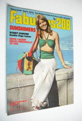 <!--1972-07-15-->Fabulous 208 magazine (15 July 1972)