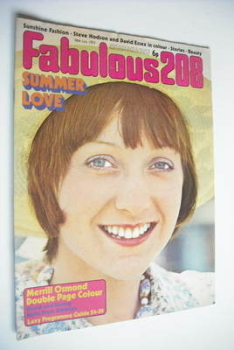 Fabulous 208 magazine (28 July 1973)
