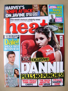 <!--2008-08-16-->Heat magazine - Dannii Minogue cover (16-22 August 2008 -