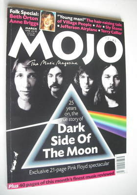 <!--1998-03-->MOJO magazine - Pink Floyd cover (March 1998 - Issue 52)