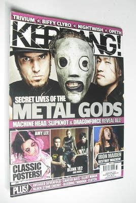 <!--2008-08-16-->Kerrang magazine - Metal Gods cover (16 August 2008 - Issu
