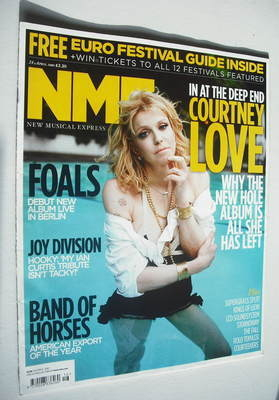 <!--2010-04-24-->NME magazine - Courtney Love cover (24 April 2010)