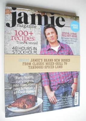 <!--0001-->Jamie Oliver magazine - Issue 1 (December 2008/January 2009)