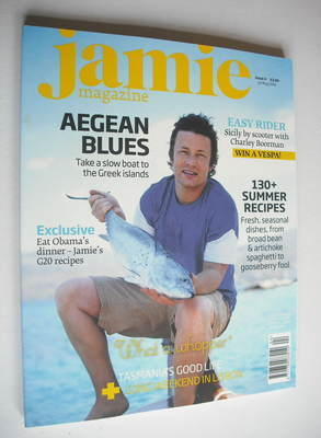 <!--0004-->Jamie Oliver magazine - Issue 4 (July/August 2009)